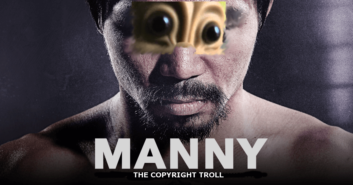 Manny Copyright Troll